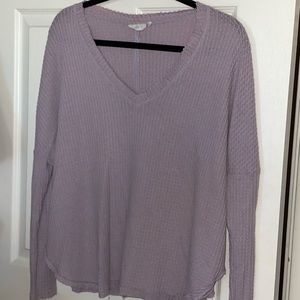 Urban outfitters vneck sweater- purple